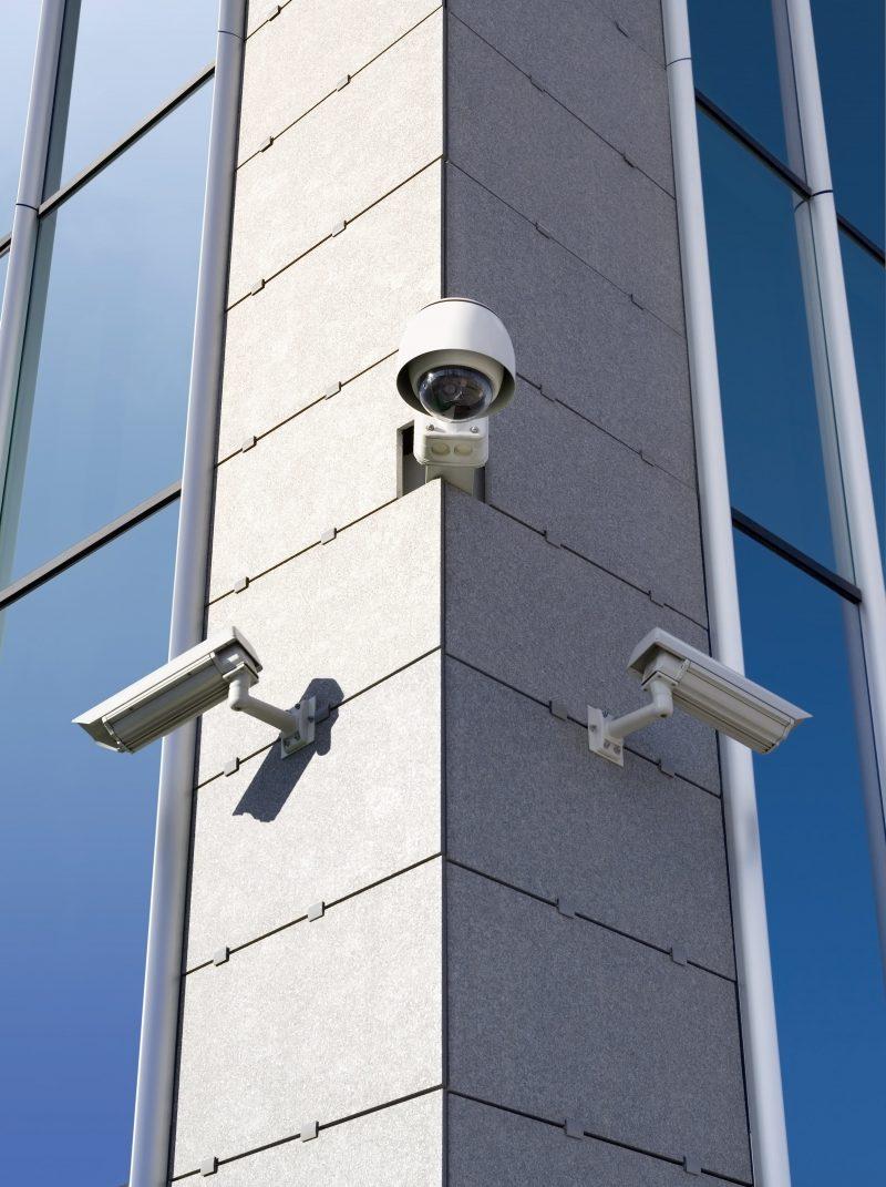 3 videokamera i udvendig løsning