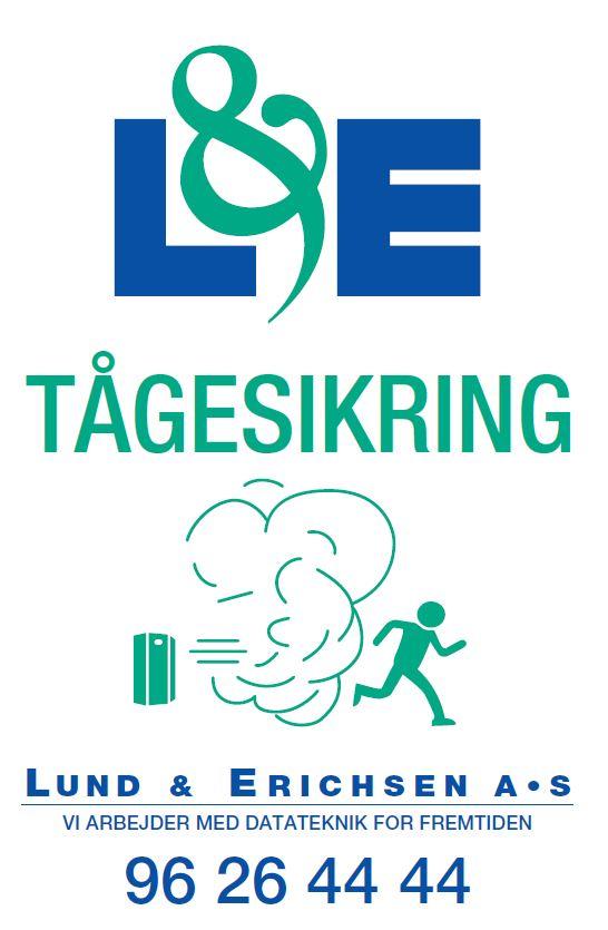 L&E Tågesikringssklilt