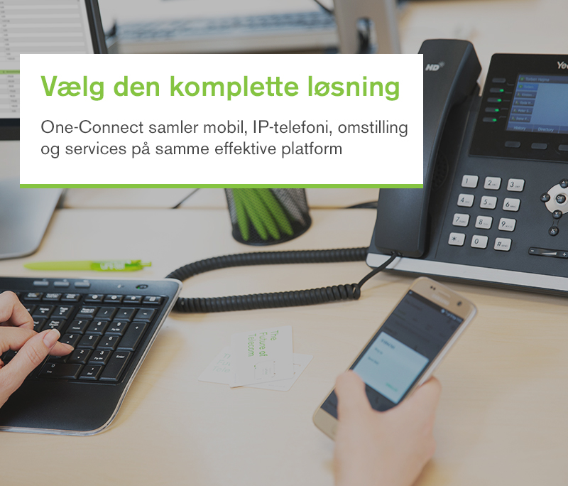 Uni-tel One-connect hosted telefoni
