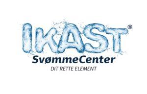Ikast Svømme Center 11 cm logo